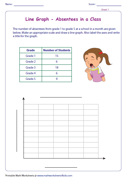 Printables Line Graph Worksheets line graph worksheets representing data graph
