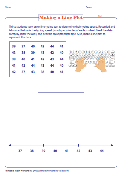 box and whisker plots worksheet