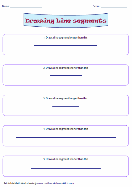 Drawing Lines With A Ruler Worksheet : Long and short worksheets