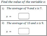 Worksheets Mean Worksheets mean worksheets finding average average