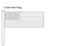 Memorial Day | Color the Flag
