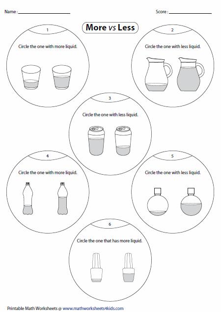 math worksheet : more or less worksheets : More And Less Worksheets Kindergarten