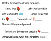 Mother's Day - Rebus Story | Identify the Nouns