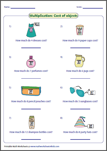 math worksheet : basic multiplication worksheets : Multiplication For Beginners Worksheets