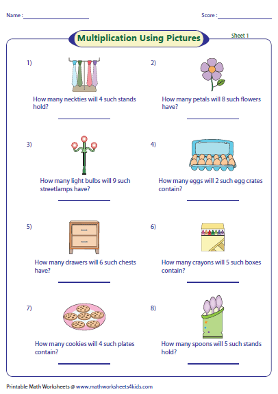 Basic Math Worksheets : Basic multiplication worksheets