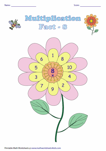 math worksheet : multiplication facts worksheets : Multiplication By 5 Worksheet