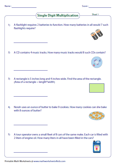4th grade multiplication word problems pdf