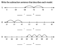 Subtraction sentence