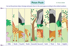 Picture Puzzles: 1 to 10