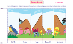Picture Puzzles: 1 to 5