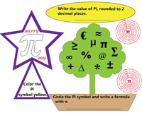 photo regarding Pi Day Worksheets Printable named Pi Working day Worksheets and Printable Pursuits