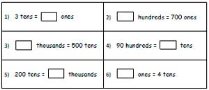 math worksheet : place value worksheets : Place Value Maths Worksheets