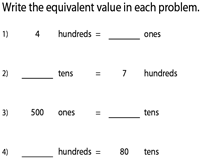 Equivalent Place Value