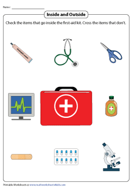 Stocking Your First Aid Box