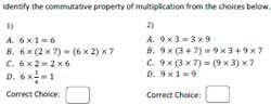 math worksheet : multiplication properties worksheets : Distributive Property Of Multiplication Worksheets 6th Grade