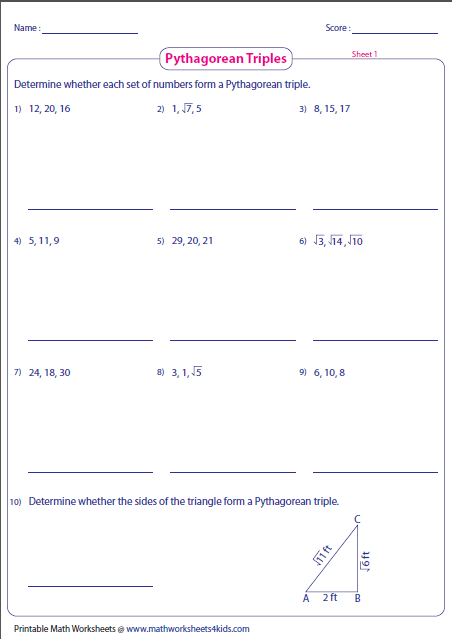 besides  besides 48 Pythagorean Theorem Worksheet with Answers  Word   PDF also Increasingly Difficult Questions   Pythagoras Pythagorean Theorem by additionally  further  in addition The Pythagorean Theorem Worksheet Free Theorem Pythagorean Theorem together with Pythagorean theorem Worksheets Grade 8   Lostranquillos moreover the pythagorean theorem worksheet answers Inspiration of pythagorean also  further  as well Kindergarten Maths Pythagoras Theorem Worksheet Picture   Free likewise 48 Pythagorean Theorem Worksheet with Answers  Word   PDF also 48 Pythagorean Theorem Worksheet with Answers  Word   PDF also Pythagorean Theorem Worksheets additionally Pythagoras Worksheet by pfellowes   Teaching Resources   Tes. on pythagorean theorem worksheet with answers