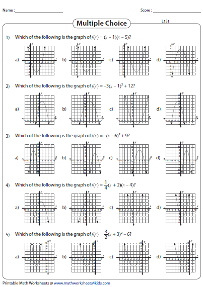 Quiz & Worksheet - How to Graph a System of Quadratic Inequalities ...