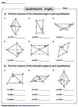 Angles in Quadrilaterals