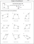 Unknown angles-Quadrilateral