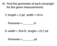 Perimeter of a Rectangle | Unit Conversion