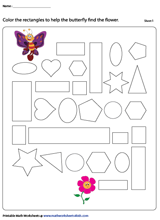 photo relating to Rectangle Printable known as Rectangles Worksheets
