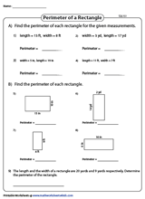 picture about Rectangle Printable known as Rectangles Worksheets