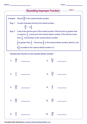 math worksheet : plotting improper fractions on a number line worksheet  math  : Fractions And Mixed Numbers On A Number Line Worksheets