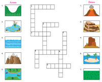 Geographical Features | Crossword