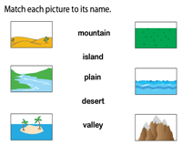 Matching Pictures to Vocabulary