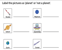 Solar System and Planets Worksheets