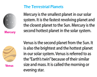 The Planets Facts Sheet