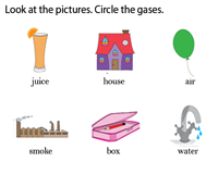Circle the gases worksheet