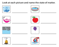 Identify the states of matter