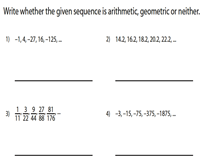 Arithmetic / Geometric