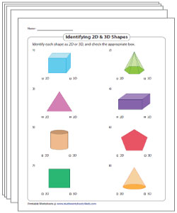 Comparing 2D and 3D Shapes