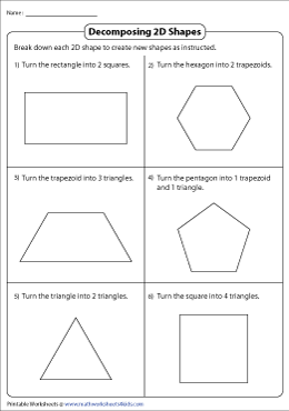 Decomposing Two-Dimensional Shapes