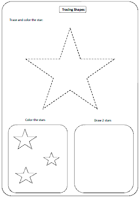 Worksheets Shapes Worksheets For Kids shapes worksheets and charts tracing shapes
