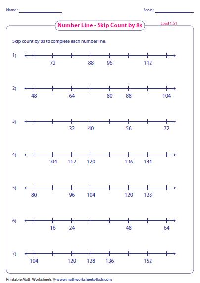 Number Names Worksheets : skip counting worksheets 3rd grade Skip ...