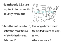 States and Capitals | Who am I?