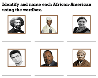 Famous African Americans | Identify