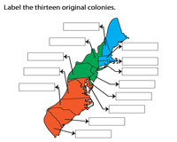 Locate and Label the Colonies