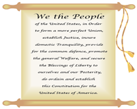 The Preamble to the Constitution | Chart