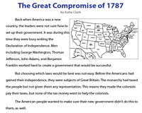 The Great Compromise of 1787 | Reading Comprehension