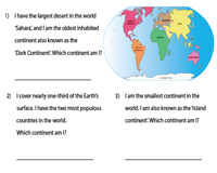 Seven Continents | Riddles