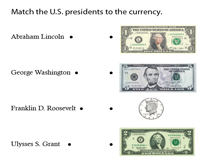 Presidents on Currency | Coins and Bills