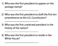 U.S. Presidential Firsts | Quiz