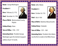 Timeline Guide to the U.S. Presidents | Flashcards