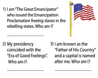 U.S Presidents - Who am I?