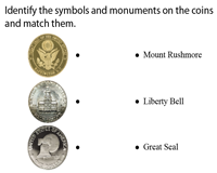 Symbols and Monuments on Coins