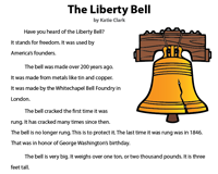 Liberty Bell | Reading Comprehension Passage